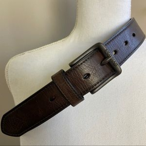 Levi's Brown Synthetic Leather Belt Small 30 - 32